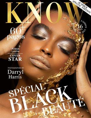 KNOW Magazine Spécial Black Beauté June 2021_Alissa