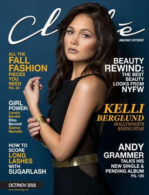 Cliché Magazine - Oct/Nov 2016 (Kelli Berglund Cover)