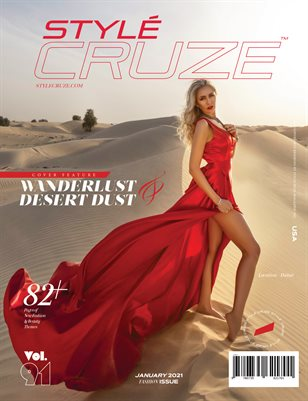 JANUARY 2021 Issue (Vol: 91) | STYLÉCRUZE Magazine