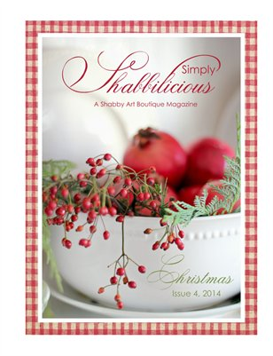 Simply Shabbilicious, Christmas - Issue 4, 2014
