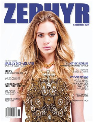 ZEPHYR Magazine - Sep. 2014 [Issue #23] - Cover Option 1