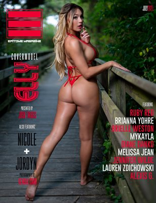 EPITOME MAGAZINE: JULY 2021 COVER ONE