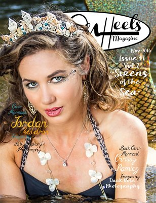 "Hell on Heels Magazine Nov 2016 Issue #37 Vol.2 ""Sirens of the Sea"""