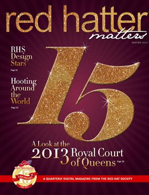 Red Hatter Matters, 15th Anniversary Commemorative issue, 2013