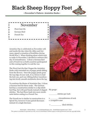 Armistice Socks