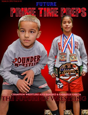 Future Prime Time Preps Magazine March 2012 Issue -Pounders Cover