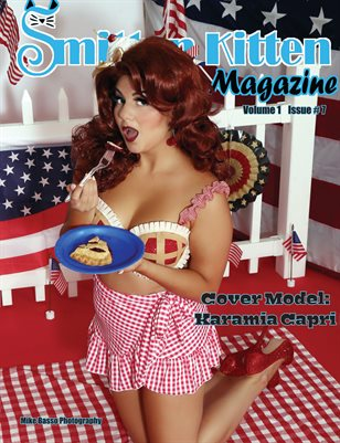 Smitten Kitten Pinup Magazine Cover 3 Karamia Capri July 2020 Issue