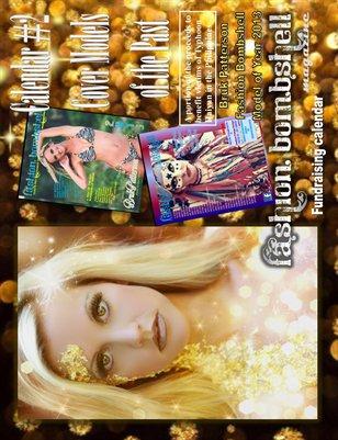 Fashion Bombshell Magazine Fundraising Calendar #2 (2014)