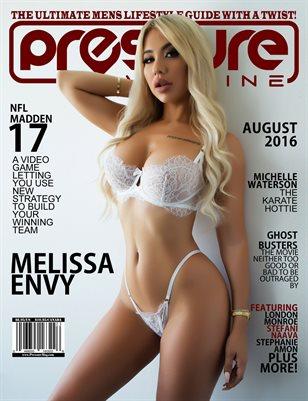 PRESSURE - Aug 2016 #23 (Melissa Envy)