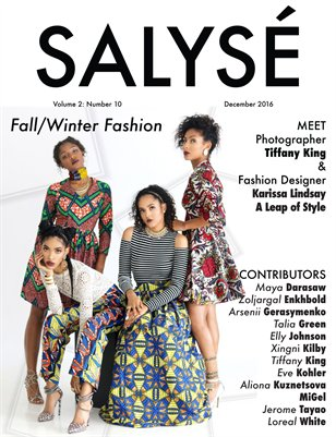 SALYSÉ Magazine | Vol 2: No 10 | December 2016