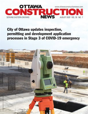 Ottawa Construction News (August 2020)