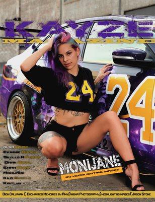Kayze Magazine Issue 43 -Monijane - Open Theme