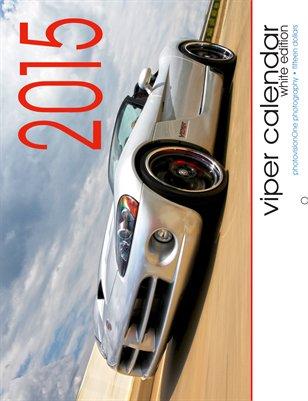 2015 Viper Calendar - Standard White Edition
