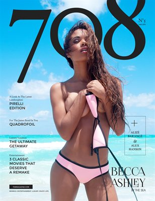 708 Magazine Issue 5 - Becca Ashley Cover