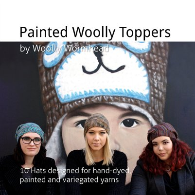 Painted Woolly Toppers