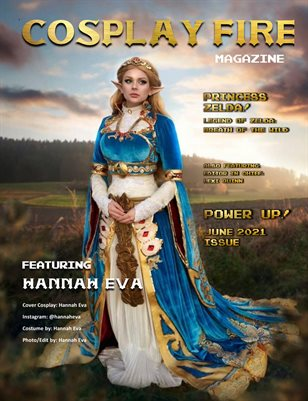 COSPLAY FIRE ISSUE 4: POWER UP!