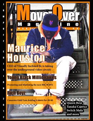 MoveOver Magazine: JumpOff Edition - Starring Maurice Houston