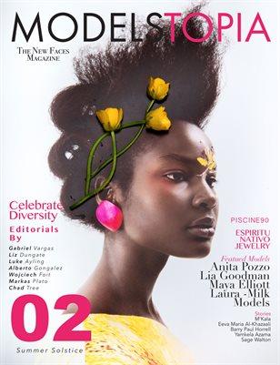 Modelstopia Magazine Issue 02 ( Cover 3 )