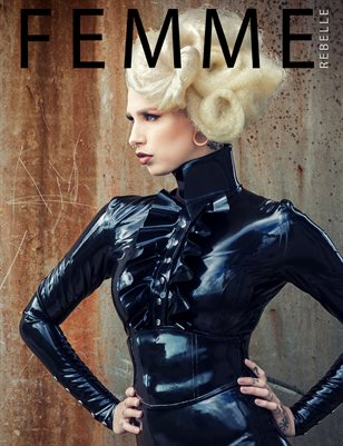 Femme Rebelle Magazine NOVEMBER 2017 Book 2 - Cecina Niehof Cover