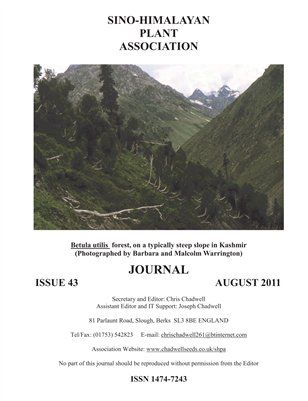 Issue 43: Sino Himalayan Plant Association