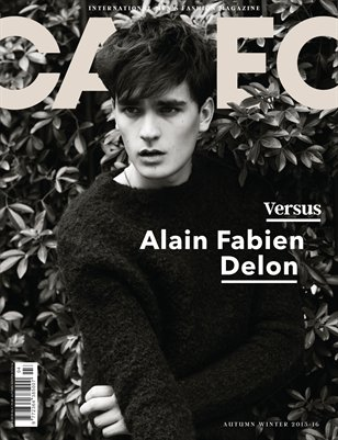CALEO MAGAZINE The Versus Issue feat. Alain Fabien Delon