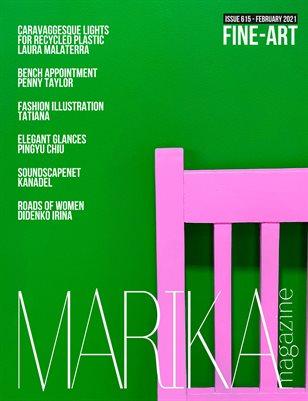 MARIKA MAGAZINE FINE-ART (ISSUE 615 - February)