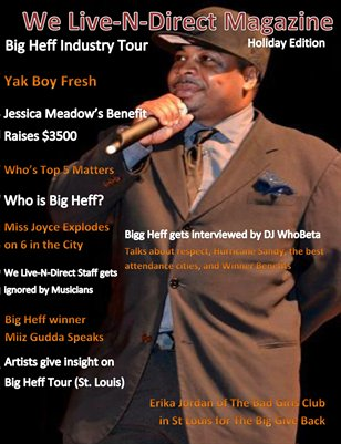 We Live-N-Direct Holiday Issue