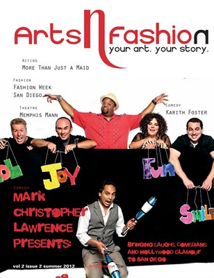 ArtsNFashion Magazine Fall Issue 2012