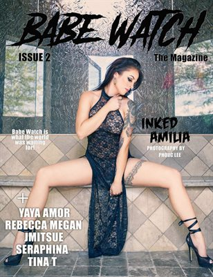 BABE WATCH ISSUE 2 FT INKED AMILIA