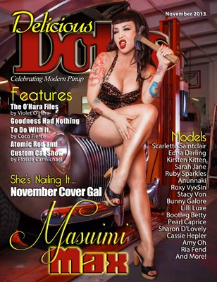 Delicious Dolls November Issue - Masuimi Max cover