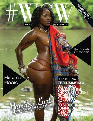 #WCW Magazine Melanin Magic Vol 1 Hershey Lust