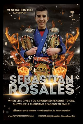 Sebastian Rosales Fire Poster