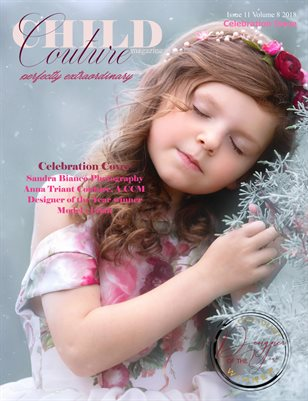Child Couture magazine Issue 11 Volume 8 2018 Cover Version 2