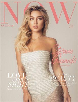 NOW Magazine February 2021 Stefanie Gurzanski