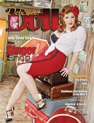 Delicious Dolls June 2013 Regular Issue - Miss Ginger Snap Cover