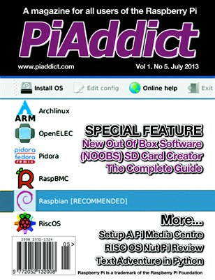 PiAddict Magazine Vol.1 No.5