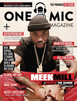 One Mic Magazine Premier Issue