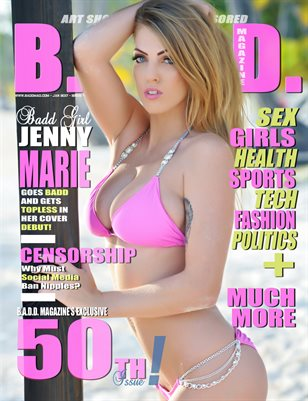 50th Issue (Jenny Marie Cover)