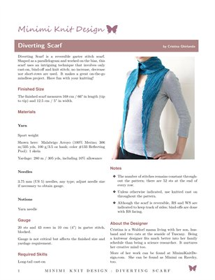 Diverting Scarf