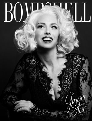 BOMBSHELL Magazine February BOOK 1 - Ginger Star Cover