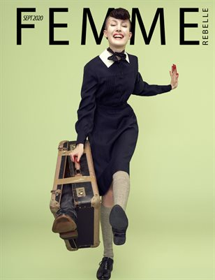 Femme Rebelle Magazine September 2020 - BOOK 2 - John Stenberg Cover