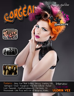 Issue 28 Cover Model: Ulorin Vex