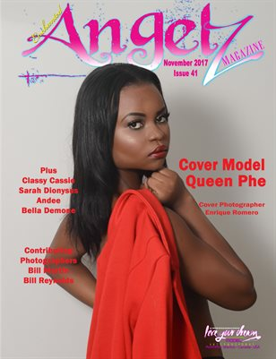 ENCHANTED ANGELZ MAGAZINE - Cover Model Queen Phe - November 2017