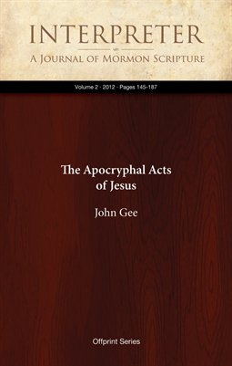 The Apocryphal Acts of Jesus
