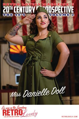 20th Century Retrospective – The 40's - Miss Danielle Doll Cover Poster
