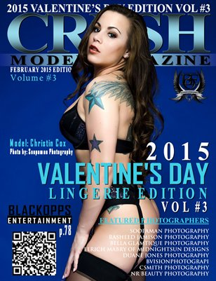 CRUSH MODEL MAGAZINE VALENTINE'S DAY EDITION VOL #3