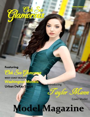 OOH SOO GLAMOROUS MODEL MAGAZINE Urban DeKay Washington Shoot