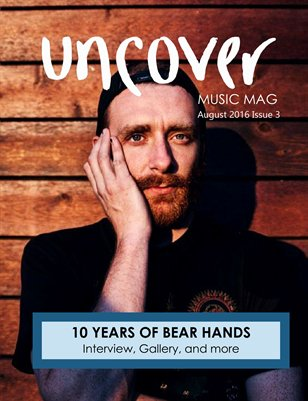 Issue 3- uncover music magazine