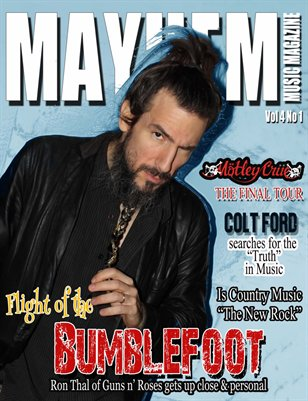 Mayhem Music Magazine Vol. 4 No. 1