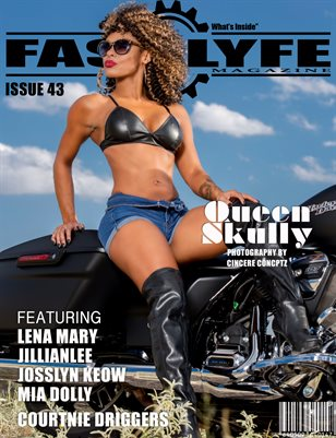 FASS LYFE MAGAZINE ISSUE 43 FT QUEEN SKULLY